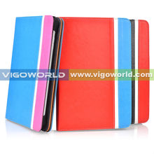 7 8 9 10 inch Universal tablet case, 360 rotating leather stand universal tablet cover