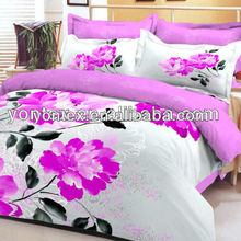 100% cotton fancy bed sheets