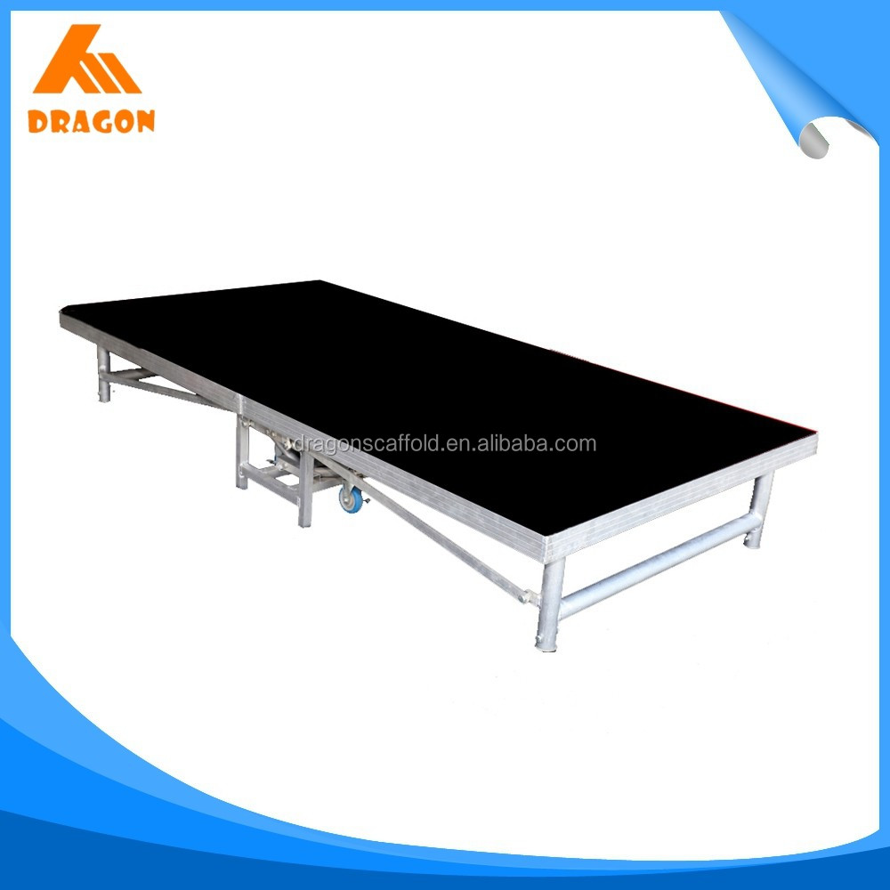 trending hot products portable metal foldable mobile stage