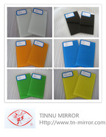 3-6MM Colourful Decorative Back Painted Glass, Building Glass, Safety Backing Painted Glass