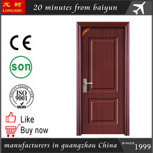 pvc plastic interior door bathroom plastic door