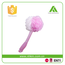 Long Handle New Fashion Body Sponge Scrubber Bath Flower Brush
