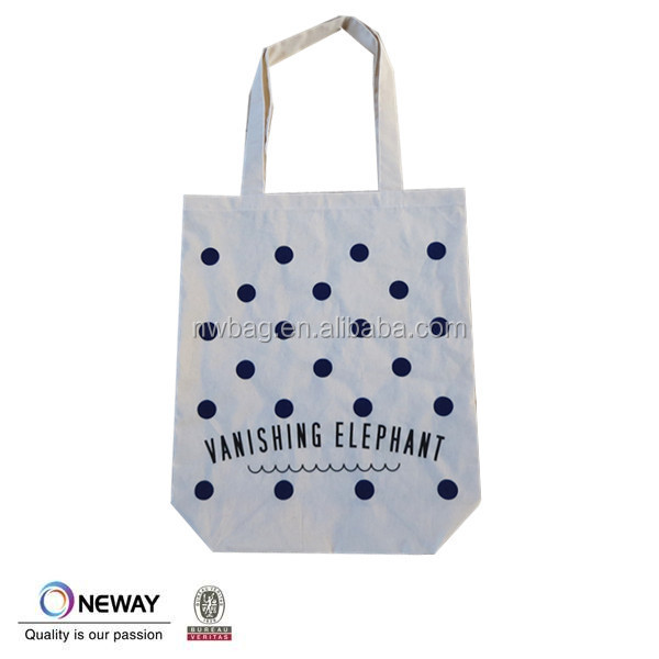 2015 Natural recycled shopping cotton bag,Cotton Material canvas wholesale tote bags,Plain Cotton Tote Bag directly from factory