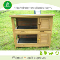 (BV SGS TUV FSC) Hot Sell Cheap Wooden Rabbit Cages