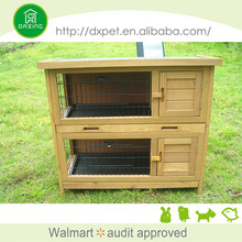 Widely Use Cheap Price Outdoor Wooden Rabbit Cage for sale