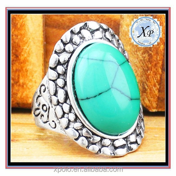 FACTORY PRICE Turquoise Stone Ring , Men Rings Models