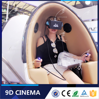 Popular! Shopping Mall Interactive Virtual Reality 9D VR Simulator with A Lot of Movies and Games