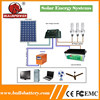 High Efficiency mini grid off grid solar panel system 1500w for solar lighting