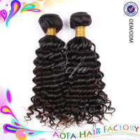 New style deep wave 100% brazilian human hair weave