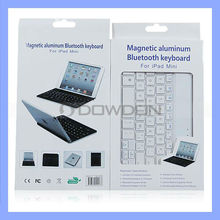 Magnetic Aluminum Bluetooth Keyboard for iPad Mini