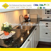Emeral pearl dark green granite countertops