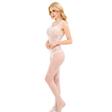 Wholesale new style sheer nylon bodystocking one size sexy girl wear
