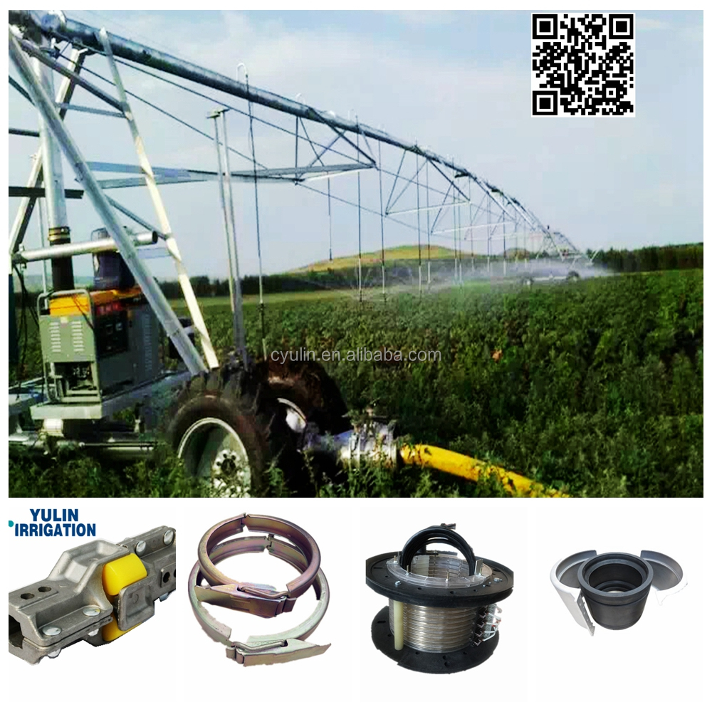 Agricultural Farm Lateral Move Sprinkler Irrigation System For Irrigating Cow Grass Field In New Zealand