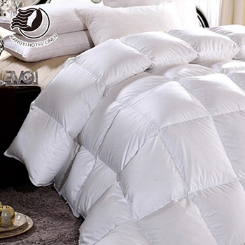 Hot Sale Breathable 100% Down Feather Quilt For Five Star Hotel