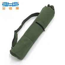 Canvas sport mats carrying bag , customized tote yoga mat bags