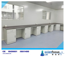 Factory price all steel chemical resistant chemical laboratory bench with pathology lab reagents