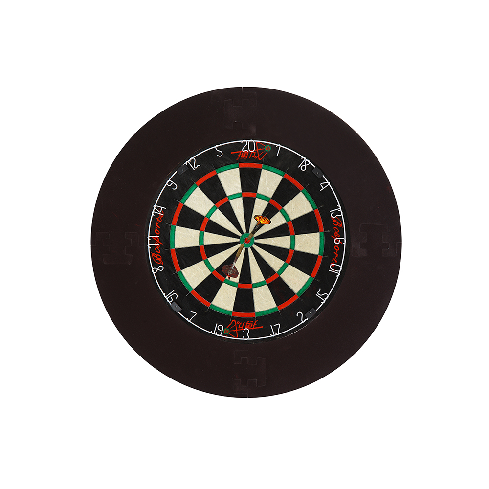 Dartboard surround pu material for protecting darts