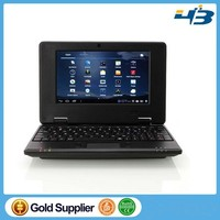 china cheap laptop 7inch VIA WM8650 android 2.2 best low price laptop made in china