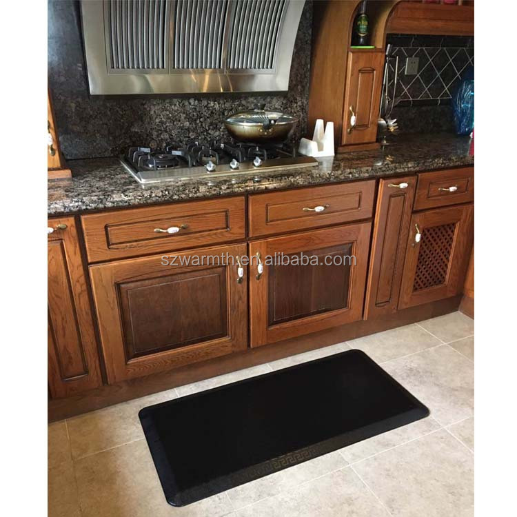 esay clean comfort cool gel pu foam anti fatigue kitchen floor mat