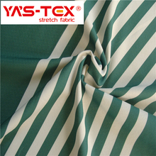China wholesale stripe plain printed stretch polyester shorts fabric