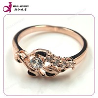cz wax setting 16k gold ring jewelry ring birthday gift