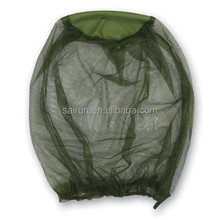 conical camping mosquito net head for face protection