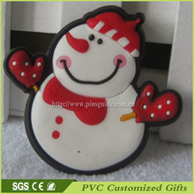 Hot Promotional Gift Snowman Shape Fridge Magnet