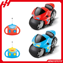 2 channel cartoon plastic kids easy control toy rc motorcycle with light and music