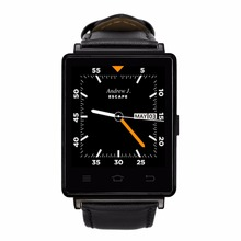 2017 high end wifi bluetooth 4.0 smart watch mobile watch phones GPS heart rate monitor