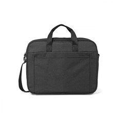 Black Polyester Business Laptop Briefcase Messenger Briefcase