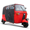Indian style for passenger bajaj, three wheel tricycle