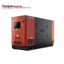 150kva natural gas turbine silent generator by Engine STF 274E