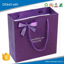 New arrival !!! customized design unique paper jewelry bags made in china alibaba