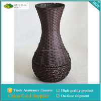 home decor handmade brown vase made in china