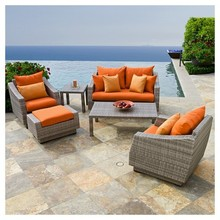 PNT-E-628 Anhui Partner Heavy Wicker Living Accents Outdoor Rattan Furniture