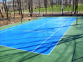 SUGE Outdoor Interlocking Plastic Tennis Court Flooring