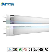 Benweilighting New products 6500k 18w 140lm/w frosted clear cover led tube light with sliver ring