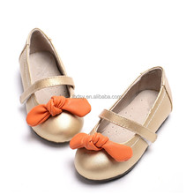 Manufacture 2015 Latest hot-selling fashion bow spanish shoes for children
