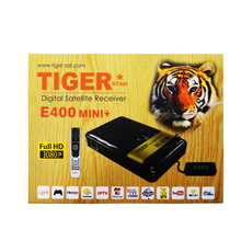 Tiger Satellite Receiver E400mini + Support Iptv Cccam Iks Free To Air