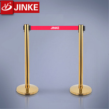 Queue Barrier System/Portable Rope Post/Stainless Steel Queue Pole