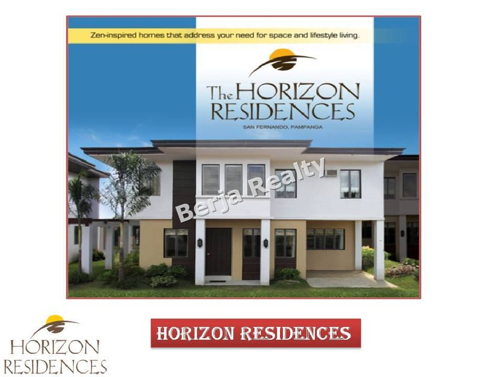 House and Lot for Sale San Fernando Pampanga, Pueblo de Oro Pampanga, 3Bedrooms Single Attached, Horizon Residences, Sakura