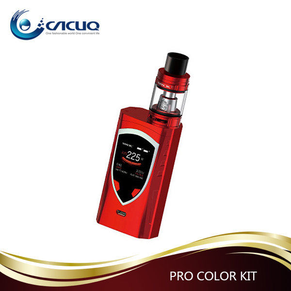 CACUQ Wholesale Vaporizer 225W 2ml/ 5ml SMOK ProColor kit