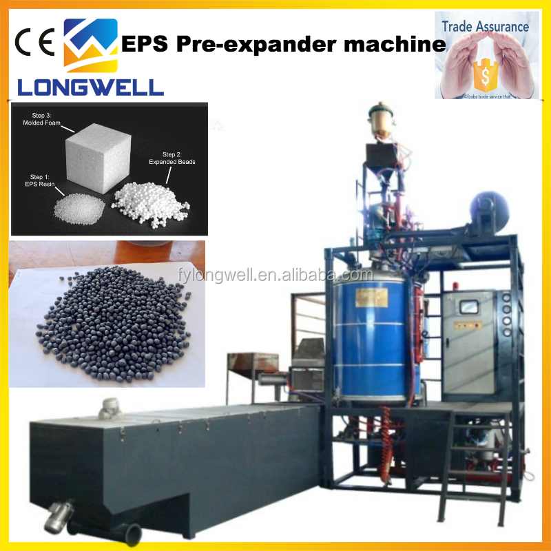 Longwell hot sale automatic foam machine expanded EPS beads