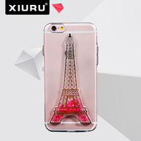 Eiffel Tower TPU Case Mobile Phone Cover For Samsung Custom-made XR-PC-80-2