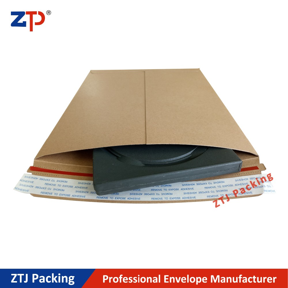 Brown kraft paper delivery mailers Natural Color Gold Kraft Envelope