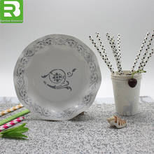 China Wholesale Design Your Own Paper Plates and Disposable Square Paper Plate