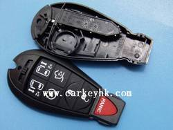 Top qulity car remotes China shells Chrysler 6+1 button key blanks wholesale