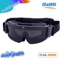 china polycabonate military airsoft goggles suits RK6 tactical airsoft paintball goggle