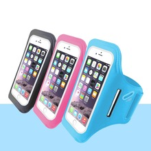 Hign Quality Customize Adjustable Sport Armband For Iphone / Samsung