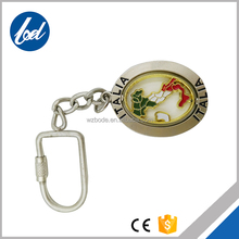 Exquisite Gift Customized Logo Key Chain Bag Metal Zinc Alloy Custom Key Ring